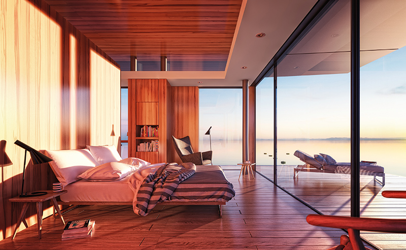Malcew Floating Homes interior
