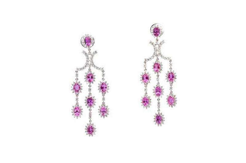 luxuo-id-pink-sapphire-diamond-earrings