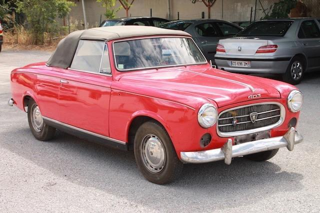 1959-Peugeot-403-Convertible-for-Sale-with-French-Auction-House-Ivoire-Nimes
