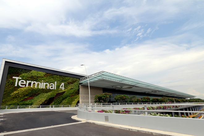 Terminal 4 - Image courtesy Changi Airport Group