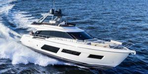 Peluncuran Perdana di Asia, Ferretti Yacht 670