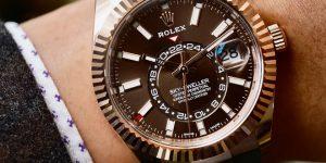 Kecanggihan Sportif Rolex Sky-Dweller Baru dengan Gelang Oysterflex