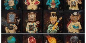 Iwan Suastika Melukis Semesta Lewat Warna-warna Cerah dan Makhluk Fantastis