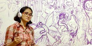 Aurora Santika Menggambarkan Pelarian Impian Dari Dunia yang Penuh Dengan Ketidakadilan Sosial
